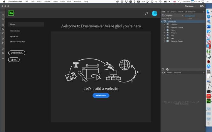 Des boutons et des menus deroulants sympas dans Dreamweaver